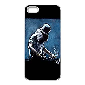 iPhone 5 5s Cell Phone Case White Guns n Roses Slash SLI_514099