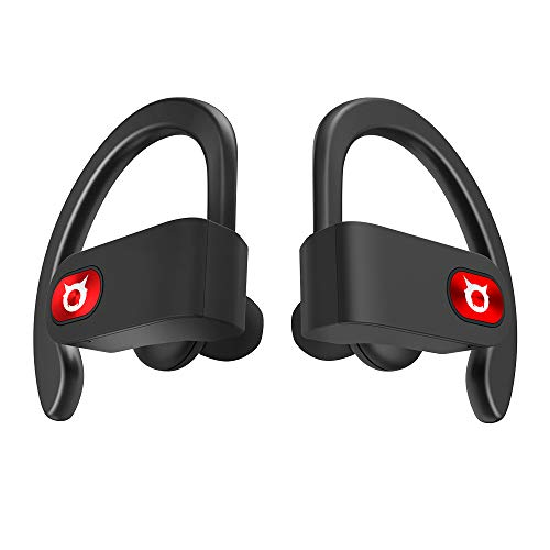 True Workout Wireless Earbuds 12 Hours Battery on Single Charge, Bluetooth 5.0 Stereo Sound Sport Headphones with Volume Control/HD Mic,HiFi Stereo in-Ear Earphones with Snazzy Zipped Charging Case