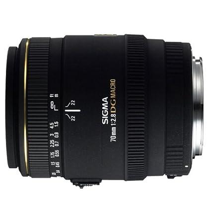 Sigma mm f: EX DG Macro Objetivo para Sony Minolta Diámetro: mm