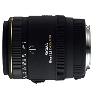 Sigma 70mm f/2.8 EX DG Macro PAF - Objetivo para Pentax (distancia focal fija 70mm, apertura f/2.8 f stop), negro