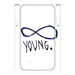 wugdiy DIY 3D Case Cover for SamSung Galaxy S4 I9500 with Customized Infinite Young