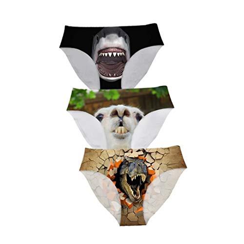 Dellukee Sexy Women Underwear Briefs Breathable Hipster Panty