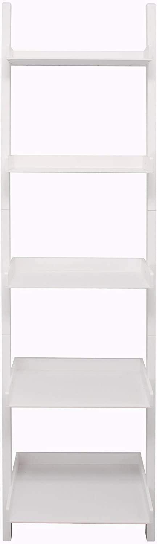 "kieragrace Providence Hadfield Leaning Shelf - White, 18"" by 66"": Home & Kitchen"