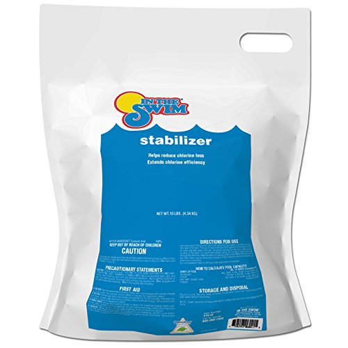 Stabilizer Conditioner Pool (In The Swim Pool Chlorine Stabilizer and Conditioner - 10 lb. Bag)