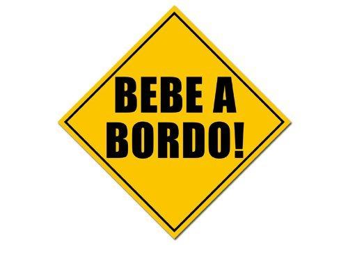 American Vinyl Etiqueta de Seguridad de Bebe A Bordo
