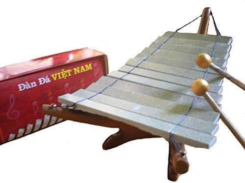 Fair Trade Vietnamese Stone Xylophone / Dan Da / Glockenspiel by Terrapin Trading