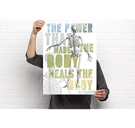 Amazon Com Clinic Artwork The Power Chiropractic Artwork 18 X24 Poster Chiropractic Art Clinic Decor Posters Prints