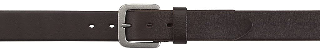 Mens jeans belt in 4 cm wide leather belt 100/% argentinian cow leather