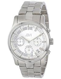 JBW Women's JB-6217-K Alessandra Silver-Tone Chronograph Diamond Watch