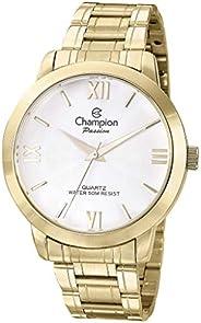 Kit, Relógio Analógico, Champion, Mais semi-jóia, Feminino, CN28704D, Dourado