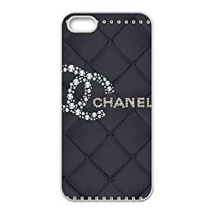 Famous brand logo Chanel design fashion cell phone case for iPhone 5S