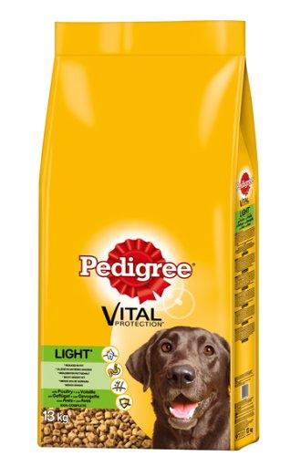 Pedigree Light Hundefutter Geflügel, 1 Beutel (1 x 13 kg)