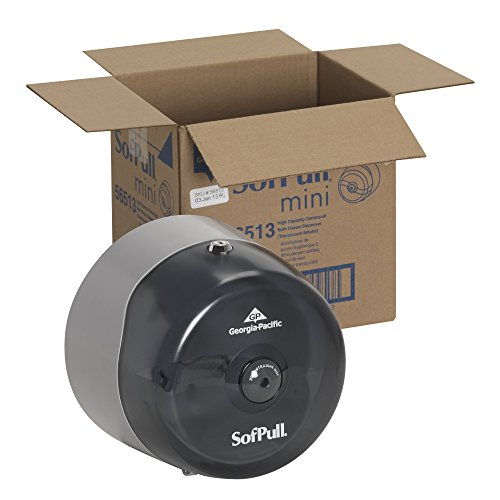 Amazon.com: SofPull 56513 Mini humo de alta capacidad Dispensador Centerpull Papel higiénico: Home Improvement