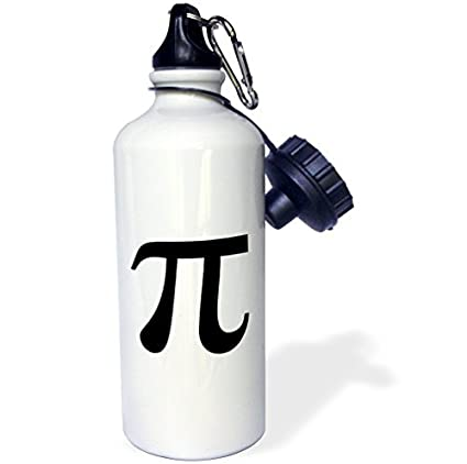 Amazon.com: Botella de agua deportiva, símbolo de Pi, signo ...