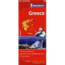 Michelin Greece Map 737