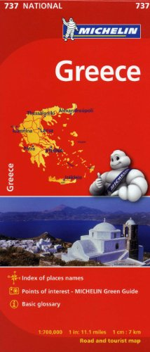 Michelin Greece Map 737 (Maps/Country (Greece Map)