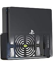 TotalMount 2517 wandhouder voor Sony PlayStation 4 Slim console met hittemanagement en veiligheidsclip zwart