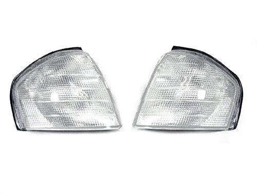 DEPO 1994-2000 Mercedes W202 C Class Clear Corner Signal Light (1997 Clear Corner)