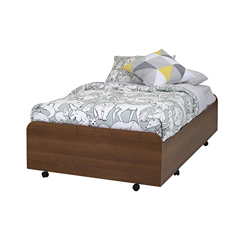 South Shore 39'' Mobby Trundle Bed on Casters, Twin, Morgan Cherry by South Shore