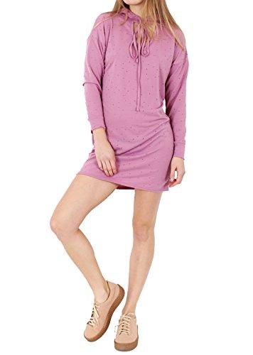 Fashion 1st - Vestido - trapecio - para mujer Rosa