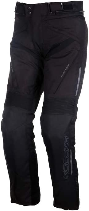 Modeka Lonic Motorrad Textilhose Schwarz XS