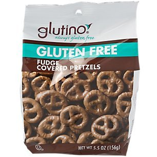 Glutino Chocolate Fudge Covered Pretzels, 5.5 oz