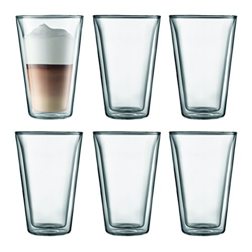 - Bodum Canteen Glassware, 13.5-Ounce, Chrome