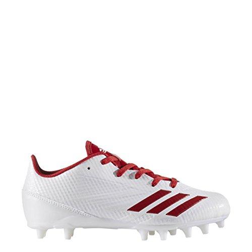 Adidas Adizero 5star 6.0 Tacchetta Per Bambini Calcio Bianco-potenza Rosso-bianco