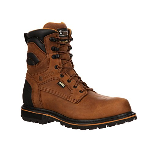 insulated composite toe boots - 8