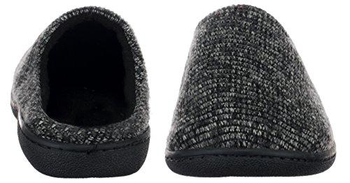 brandsseller Men's Slippers Grey QELnLs