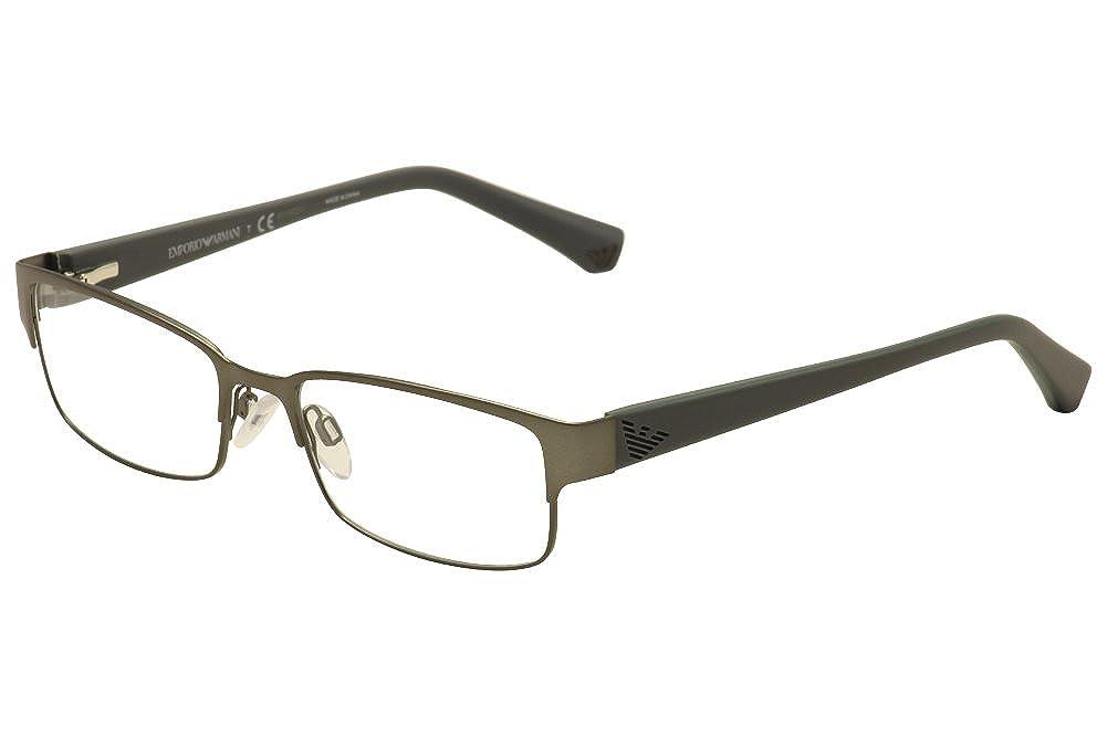 EMPORIO ARMANI Eyeglasses EA 1036 3112 Matte Gunmetal 53MM at Amazon ...