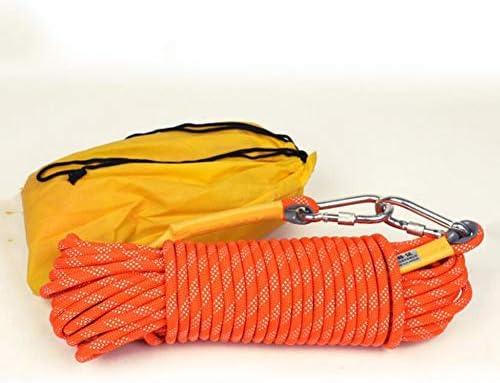 ロープセット、10mm の屋外ロープ、キャンプの保護パラシュートの静的な屋内ロープの補助ロープ