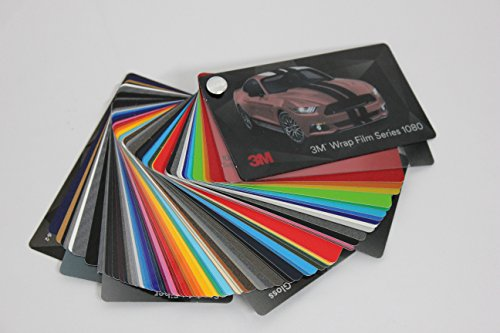Amazon.com: 3m Wrap Film Series 1080 Swatch Sample Book: Automotive