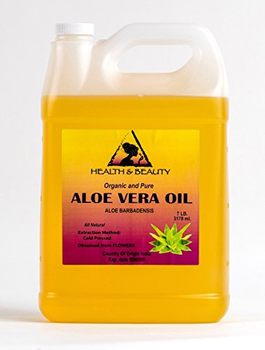 Cheap Aloe Vera Oil Organic Carrier Cold Pressed Premium 100% Pure 128 oz, 7 LB, 1 gal