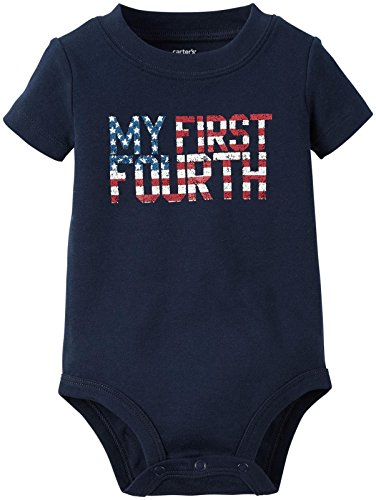 Carters Unisex Baby First Bodysuit