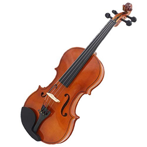 Baosity 3/4 Scale Violin Acoustic Violin Fiddle + Carrying Case + Bow + Rosin Set by Baosity
