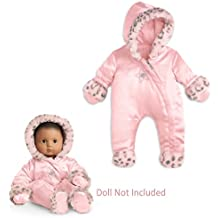 American Girl Bitty Baby Little Leopard Snowsuit for Dolls (Doll not included)