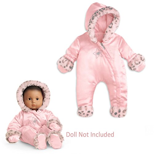 Bitty Girl Little Baby (American Girl Bitty Baby Little Leopard Snowsuit for Dolls (Doll not included))