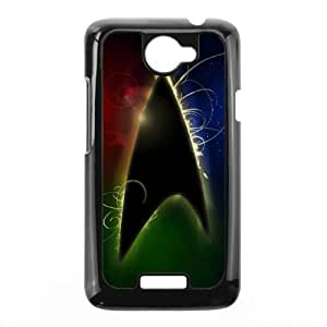 Pattern Hard Case Cover HTC One X Cell Phone Case Black Star Trek Pyjcj Back Skin Case Shell