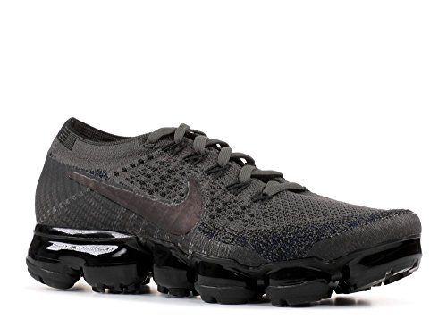 Nike Wmns Air Vapormax Flyknit Running Sneakers Midnight Fog / Multi Colore-nero