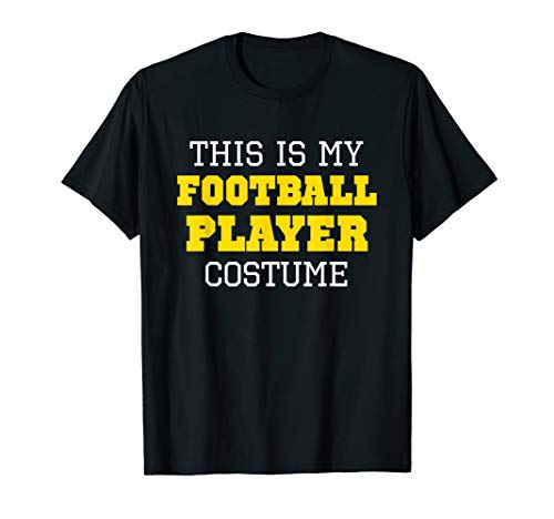 This Is My Football Player Costume Halloween Lazy Easy ()