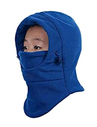 Rgslon Boys Girls Balaclava Children Cap Ski Face Mask Winter Warm Hat