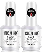 ROSALIND Magic Remover Uñas, Eliminar de Forma Rápida y Sencilla Esmaltes Semipermanente Para Uñas, No Lastimar Tus Uñas, Quitaesmalte Profesional de No Irritante