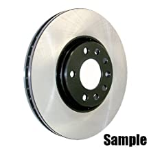 Centric Parts 120.44125 Premium Brake Rotor with E-Coating