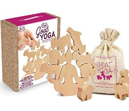 Amazon.com: Juego de apilamiento de madera para yoga de ...