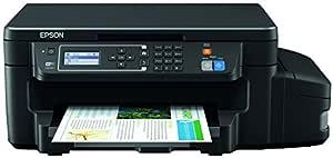 Epson Ecotank ET-3600 - Impresora multifunción de tinda (Copia y escaneado con impresión a Doble Cara), Color Negro