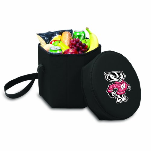 NCAA Wisconsin Badgers Bongo Insulated Collapsible Cooler, ()
