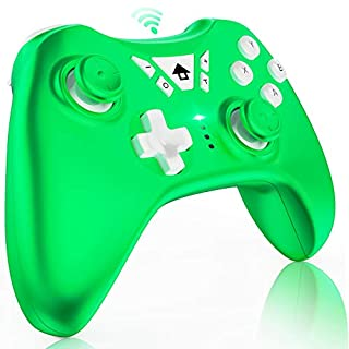 Switch Controller Wireless, LITTJOY Pro Controller Remote Wireless Gamepad Joystick for Nintendo Switch Console Supports Gyro Axis, Turbo and Dual Vibration-Green(2020 Upgrade)