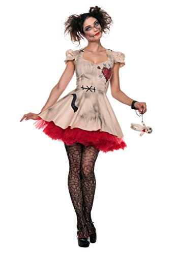 Womens Plus Size Voodoo Doll Costume 3x