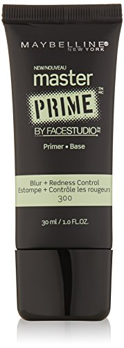 Redness Control (Maybelline Face Studio Master Prime Primer, Blur + Redness Control, 1 Fluid Ounce)